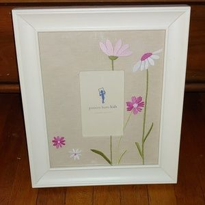 Pottery Barn Kids Floral picture frame